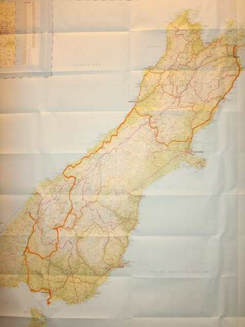 ...and the South Island route.