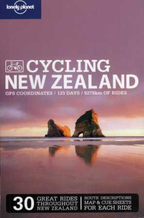 New Zealand Lonely Planet Cycling Guide w
